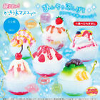 Shaved Ice Mini Food Mascot Keychain Collection