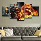 ghost rider 2 motorcycle - Ghost Rider Motorcycle Flames Fire Wall Art Picture For Living Room Modern Artwo