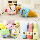 Funny Pet Dog Puppy Chew Toy Squeaker Squeaky Cute Plush Sound Play Training Toy