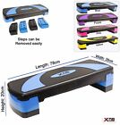 Aerobic 3 Level Aerobic Stepper Adjustable Yoga Step Board Gym Fitness Exercise
