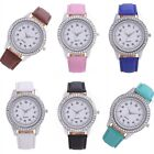 Hot Girl Women Casual Rhinestone Stainless Steel Quartz Luxury Wrist Watch