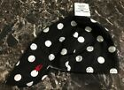 BLACK & WHITE POLKA DOTS Welding Hat Welder Hats Cap Painter American Hotties