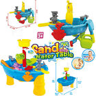 Pirate Ship Kids Sand Water Table Garden Sandpit Play Set Boat Toys Spade Bucket