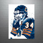 Walter Payton Chicago Bears Poster FREE US SHIPPING $15.0 USD on eBay