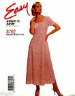 McCall's 8762 Misses Stitch 'n Easy Princess Dress Pattern Sizes 10-16 OOP UNCUT