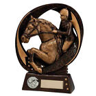 Resin Typhoon Horse Equestrian Trophies Horse Jumping Award FREE Engraving