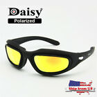 Military Goggles Daisy C5 Transition Polarized Hunting Sunglasses 4 Lens Kit