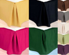 VERSATIL DUST RUFFLE AROUND ALL CORNERS 1PC BED BEDDING REGULAR SKIRT IN C-KING image