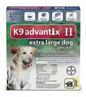 Advantix II for Dogs Flea, Tick & Mosquito Prevention for Dogs Over 55lbs 3Sizes
