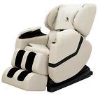 Deluxe Recliner Full Body Shiatsu Massage Chair ZERO GRAVITY with Heat Food Rest <br/> Comfort and Relax from head to toe✔Lifetime Warranty✔