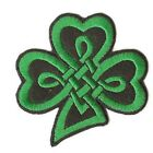 Shamrock Iron On Applique in Two Designs x 1
