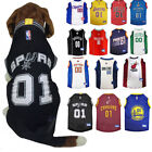 NBA Pet Fan Gear Dog Jersey Shirt for Dogs- PICK YOUR TEAM XS-XL