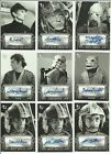 2018 Topps Star Wars A New Hope Black & White Auto Autograph Card - YOU PICK $24.95 USD on eBay