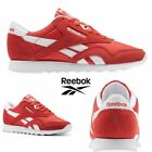 Reebok Classic Nylon Neutrals Running Shoes Sneakers Clay Tint BS9377 SZ 4-12.5