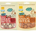 DELI BITES - (65g x 3) - Good Boy Pawsley Natural Beef Duck Meat bp Dog Treats