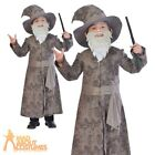 Child Wise Wizard Robe Costume Magician Book Week Day Fancy Dress Outfit Kids