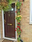 """6 plant pot rings.Hang plants in 6"""" pots on a drain pipe.includes cable ties."""