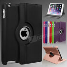Leather 360 Degree Rotating Smart Stand Case Covr Fr APPLE iPad Air 4 2 Mini PRO