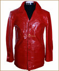 Fight Club Red Men's New Smart Real Cowhide Leather Movie Film Blazer Jacket