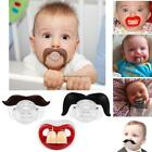 Silicone Funny Dummy Dummies Novelty Teeth Pacifier For Babies Toddler FF