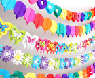 Kids Party Clubhouse Lovely Flags Banners Hanging Birthday Supplies Decoration