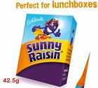 Whitworths Sunny Raisin 42.5g Mini Pack, Sultana, Perfect for School Lunch Pack
