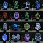 NEW 3D Star Wars Heros Bedroom Night LED desk table 7 Color Desk Art lamp Light