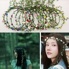 Bohemian Flower Crown Wedding Garland Forehead Hair Head Ban