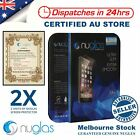 2X NUGLAS Tempered Glass Screen Protector for Apple iPhone SE iPhone 5S 5C Lot