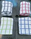 THICK HEAVY Terry Tea towels 100% cotton dish cloth drying cleaning kitchen