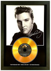 ELVIS PRESLEY*ADD YOUR PERSONAL MESSAGE*SIGNED GOLD DISC COLLECTABLE MEMORABILIA