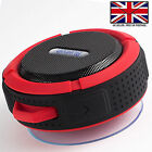 BLUETOOTH WATERPROOF WIRELESS TRAVEL SPEAKER WITH MIC For SAMSUNG GALAXY S9