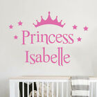 Personalised Name Stars Wall Art Sticker Mural Decal Girls Childrens Decor
