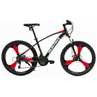 26-Full-Wheel-Mountain-Bike-Bicycle-21-Speeds-Front-Suspension-Disc-Brakes