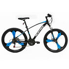 "26"" Full Wheel Mountain Bike Bicycle 21 Speeds Front Suspension Disc Brakes"