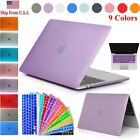 "Rubberized Hard Shell Case + Keyboard Cover MacBook Air 11"" Pro 13/15"" Retina 12"