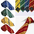 Harry Potter Tie Hogwarts Gryffindor Slytherin Ravenclaw Hufflepuff Fancy Tie