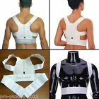Adjustable Magnet Therapy Posture Correcting Back Pain Relief Support Brace Belt