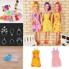 30 Items For Barbie Doll Dresses Clothes Shoes Set Jewellery Accessories Suit