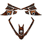 Sled Wrap Snowmobile Decals Graphics Fits Arctic Cat F Series