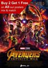 Marvel Avengers Infinity War Movie Poster A5 A4 A3 A2 A1