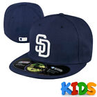 San Diego Padres Officially Licenced MLB KIDS New Era 59FIFTY Fitted Cap