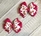 Fox Toddler Hair Bow Set