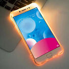 Incoming Call LED Light Up Frame Silicone TPU Phone X 6s 7 8 Plus TPU Soft Case