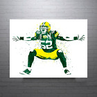 Clay Matthews Green Bay Packers Horizontal Poster FREE US SHIPPING $14.99 USD on eBay