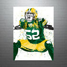 Clay Matthews Green Bay Packers Poster FREE US SHIPPING $14.99 USD on eBay