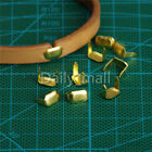 Внешний вид - Leather Staples Brass For Belt Loops Leather Craft Fastener Hardware Accessories