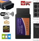 obd scan tool iphone - Wifi/Bluetooth OBD2 OBDII Car Diagnostic Scan Tool Scanner for iPhone Android US