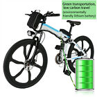 Electric E Bike Aluminum Frame in Lithium Battery Adult 26