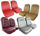 1963 - 1966 Corvette Leather Seat Covers. NEW. Any Factory Color